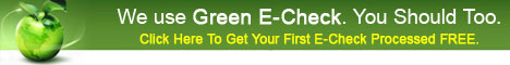 Join Green and get your first check processed free!